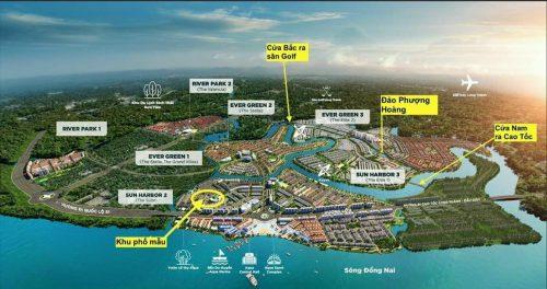 Aqua City Biên Hòa Đồng Nai là khu đô thị thông minh lớn nhất phía đông hồ chí minh