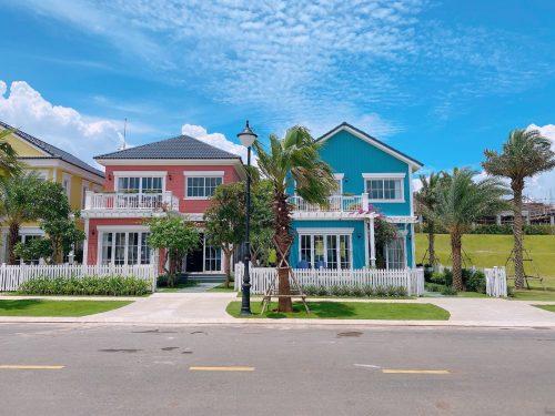 Nhà mẫu Biệt thự đơn lập NovaWorld Phan Thiết phân kì Florida.