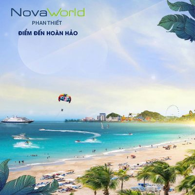 NovaWorld Phan Thiết được xây dựng theo mô hình đại đô thị Biển